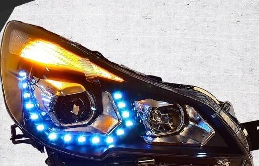 AL ヘッドライト 適用: スバル アウトバック 2010-2016 LED ヘッドランプ デイタイムランニングライト DRL バイキセノン HID 4300K~8000K 35W・55W AL-HH-0967