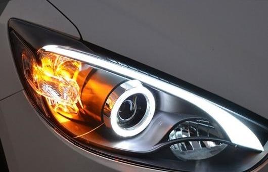 人気アイテム AL ヘッドライト 適用: AL-HH-0970 マツダ CX-5 2013-2015 適用: LED ヘッドランプ LED デイタイムランニングライト DRL バイキセノン HID AL-HH-0970, Good Feel(グッドフィール):f884ed1f --- sap-latam.com