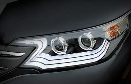 AL ヘッドライト 適用: ホンダ CR-V CRV 2012-2013 ヘッドランプ LED DRL フロント ライト バイキセノン レンズ キセノン HID 4300K~8000K 35W・55W AL-HH-0983