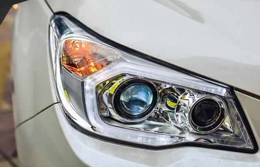 AL ヘッドランプ 適用: スバル トヨタ RAV4 2013-2016 LED DRL デイタイムランニングライト バイキセノン HID 4300K~8000K 35W・55W AL-HH-0985