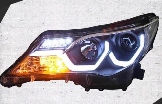 AL ヘッドランプ 適用: トヨタ RAV4 ヘッドライト 2013-2015 LED DRL H7 D2H HID オプション エンジェル アイ BI キセノン 4300K~8000K 35W・55W AL-HH-0988