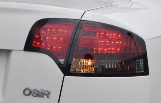 AL テール ランプ 適用: アウディ/AUDI A4-B7 LED ライト 2005-2008 アルティス リア DRL + ブレーキ パーク シグナル ストップ レッド AL-HH-1103