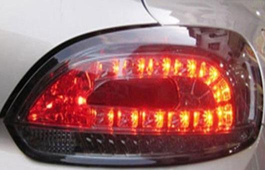 AL テール ランプ 適用: VW フォルクスワーゲン/VOLKSWAGEN シロッコ LED ライト 2009-2014 アルティス リア DRL + ブレーキ パーク シグナル ストップ レッド AL-HH-1107