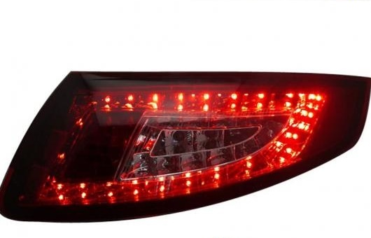 AL テール ランプ 適用: ポルシェ/PORSCHE 997 LED ライト 2005-2009 アルティス リア DRL + ブレーキ パーク シグナル ストップ レッド AL-HH-1108
