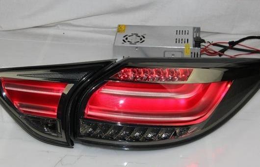 AL 適用: テール ライト 2013-2015 マツダ CX-5 LED リア フォグ ランプ DRL ブレーキ + パーク シグナル レッド AL-HH-1141