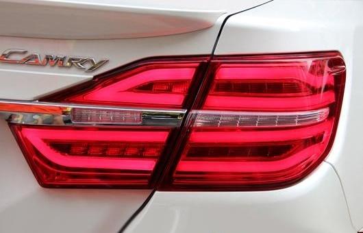 AL 適用: テール ライト 2015-2017 トヨタ カムリ LED リア フォグ ランプ DRL ブレーキ + パーク シグナル レッド AL-HH-1145