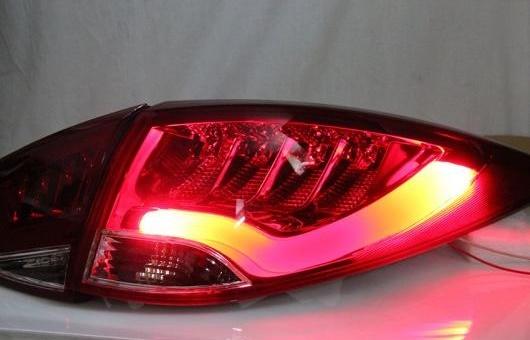 AL 適用: テール ライト 2009-2013 ヒュンダイ IX35 LED リア フォグ ランプ DRL ブレーキ + パーク シグナル レッド AL-HH-1146