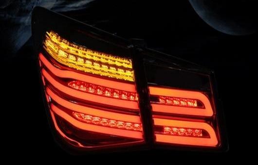 AL 適用: シボレー/CHEVROLET クルーズ LED テールライト 2013-2015 テール ライト リア ランプ DRL + ブレーキ パーク シグナル レッド AL-HH-1169