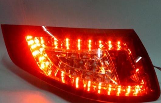 AL 適用: ポルシェ/PORSCHE 911 997 リア ライト 2005-2010 LED テール アルティス ランプ DRL + ブレーキ パーク シグナル レッド AL-HH-1204