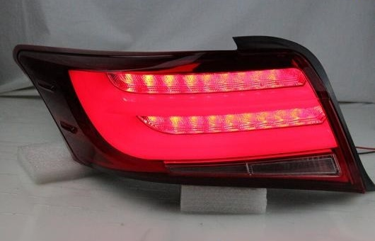 AL 適用: テール ライト 2013-2016 トヨタ ヴィオス LED リア フォグ ランプ DRL ブレーキ + パーク シグナル レッド AL-HH-1219