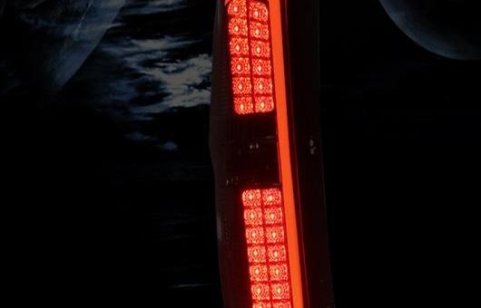 AL 適用: ヒュンダイ/現代/HYUNDAI H-1 LED テールライト 2013-2016 ワゴン テール ライト リア ランプ DRL + ブレーキ パーク シグナル レッド AL-HH-1224