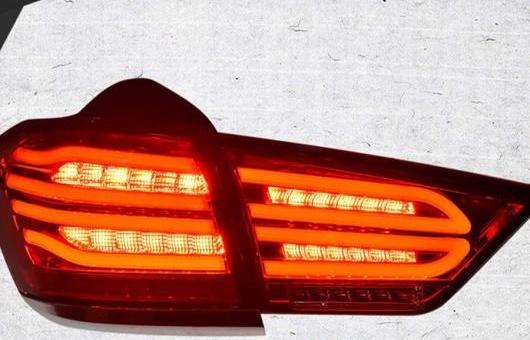 AL 適用: シボレー/CHEVROLET クルーズ テールライト 2014-2016 LED テール ランプ リア DRL + ブレーキ パーク シグナル ライト レッド AL-HH-1230