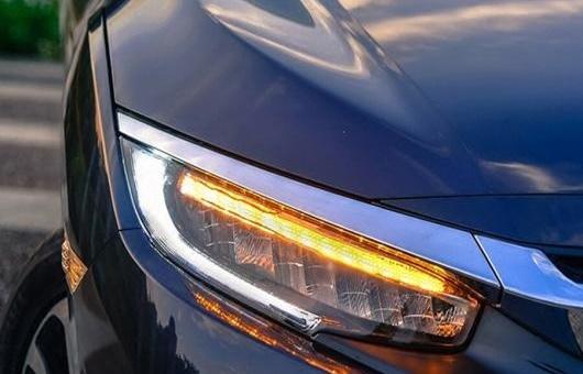 AL ヘッドライト 適用: ホンダ シビック 2016-2017 LED 10世代 ヘッドランプ デイタイムランニングライト バイキセノン HID 4300K~8000K 35W・55W AL-HH-1235