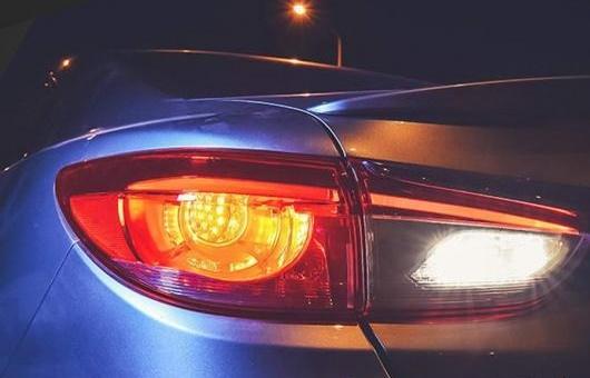 AL 適用: マツダ アテンザ テールライト 2014-2017 LED テール ランプ リア DRL + ブレーキ パーク シグナル ライト レッド AL-HH-1236