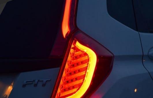 AL 適用: ホンダ フィット テールライト 2014-2016 LED テール ランプ リア DRL + ブレーキ パーク シグナル ライト レッド AL-HH-1244