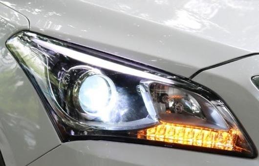AL 適用: ヒュンダイ/現代/HYUNDAI ミストラ ヘッドライト 2013-2016 LED ヘッドランプ デイタイムランニングライト DRL バイキセノン HID 4300K~8000K 35W・55W AL-HH-1258