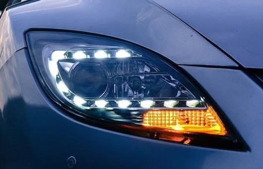 AL 適用: マツダ 6 ヘッドライト 2009-2014 LED ヘッドランプ DRL プロジェクター H7 HID バイキセノン レンズ 4300K~8000K 35W・55W AL-HH-1264