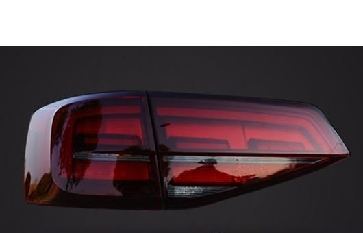 AL 適用: VW フォルクスワーゲン/VOLKSWAGEN ジェッタ GLI 2015-2018 LED テールライト リア ランプ ダイナミック ターンシグナル DRL + ブレーキ パーク シグナル ストップ レッド AL-HH-1270