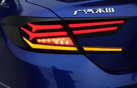 AL スタイル 適用: ホンダ アコード 10世代 ヘッドライト 2018 LED テールライト リア ランプ DRL + ブレーキ パーク ダイナミック ターンシグナル リバース ライト 35W レッド AL-HH-1272