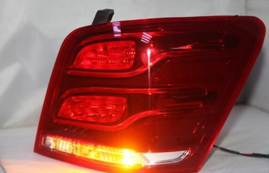 AL 適用: メルセデスベンツ/MERCEDES BENZ W204 GLK200 GLK 260 GLK300 テール ランプ 2014 2015 2016 年 LED テールライト レッド AL-HH-1281