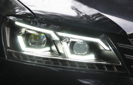 AL 適用: VW フォルクスワーゲン/VOLKSWAGEN パサート B7 US バージョン 2012-2016 ヘッドライト DRL D2H ダイナミック 4300K ホワイト イエロー~8000K ホワイト ブルー 35W・55W AL-HH-1318
