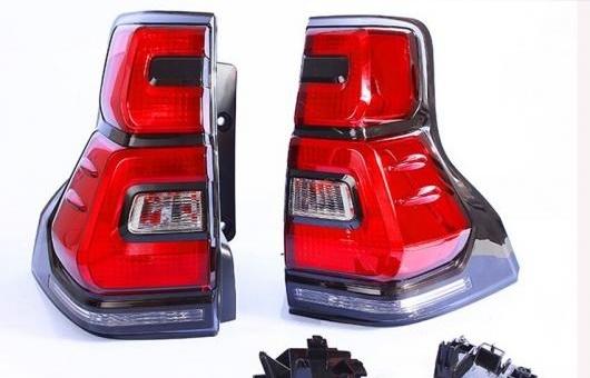 AL テールライト 適用: トヨタ LC150 GRJ150 リア ランドクルーザー プラド 2018 LED RL + ブレーキ パーク シグナル ライト レッド AL-HH-1328