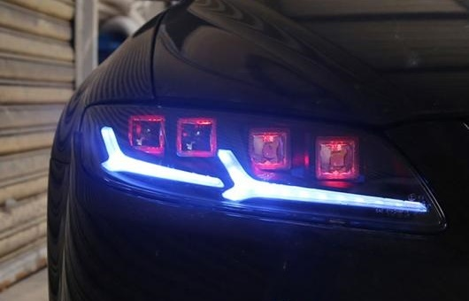 AL 2ピース LED ヘッドライト 適用: マツダ 6 アテンザ 2003-2008 ライト エンジェル アイ オール キット フォグ デイタイムランニングライト AL-HH-1332