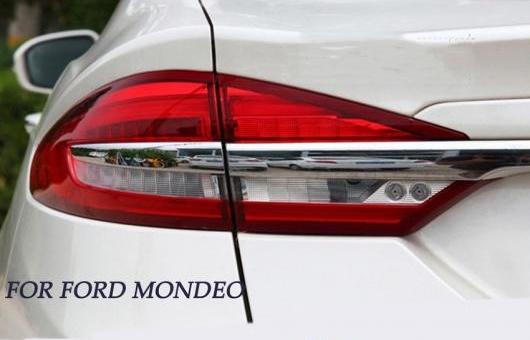 AL フォード モンデオ フュージョン テールライト 2017 2018 2019 LED テール ランプ リア DRL + ブレーキ パーク シグナル レッド AL-HH-1360