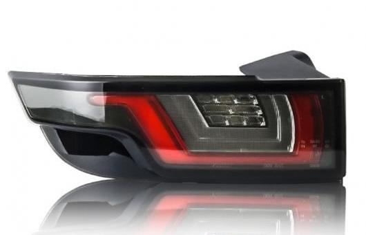 AL テールライト 適用: レンジ ローバー イヴォーク 2012-2018 テール ライト LED リア ランプ 35W ブラック AL-HH-1384