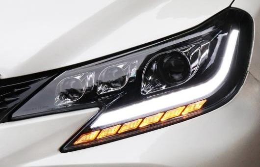 AL ヘッドランプ 適用: トヨタ マーク X ヘッドライト 2013-2017 レイツ/マークX LED DRL オール ライト AL-HH-1386