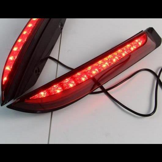 AL 2ピース 適用: フォード/FORD エベレスト 2016 2017 2018 2019 LED テールライト リア バンパー ライト LED ブレーキ ライト オート バルブ 装飾 ランプ タイプA AL-HH-1481