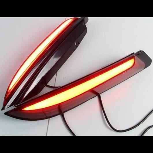 AL 2ピース 適用: フォード/FORD エベレスト 2016 2017 2018 2019 LED テールライト リア バンパー ライト LED ブレーキ ライト オート バルブ 装飾 ランプ タイプB AL-HH-1481