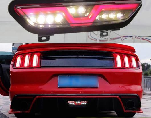AL 適用: フォード/FORD マスタング 2017 2018 2019 2020 マルチファンクション LED テールライト リア フォグランプ リバース ライト オート バルブ ブレーキ リフレクター AL-HH-1479