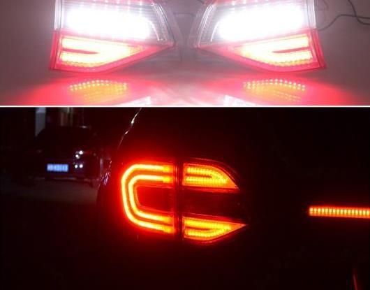 AL 2ピース LED テールライト 適用: フォード/FORD エベレスト 2016 2017 2018 LED リア バンパー ライト LED ブレーキ ライト リバース ライト 装飾 ランプ AL-HH-1558