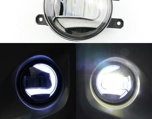 AL 2in1 ファンクション セーフティー ドライビング オート バルブ LED デイタイムランニングライト プロジェクター フォグランプ 適用: レクサス LX570 5.7L V8 2008-2013 AL-HH-1635