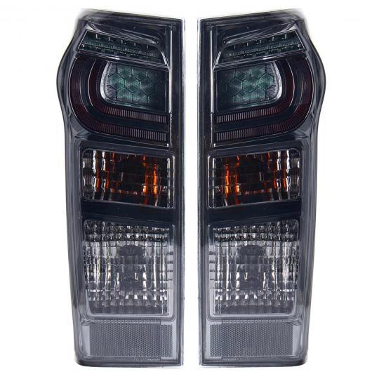 AL LED テールライト ブレーキ リア ランプ 左 右側 適用: いすゞ DMAX D-MAX UTE 2017 2018 2019 8961253983 898125393 W/ワイヤー ハーネス ペア ブラック AL-HH-1933
