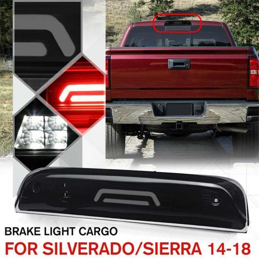 AL LED 3RD サード ブレーキ ライト ランプ 適用: シボレー/CHEVROLET シルバラード 1500 2500HD 3500HD 2015-2018 GMC シエラ ワーニング ライト ランプ AL-HH-1729