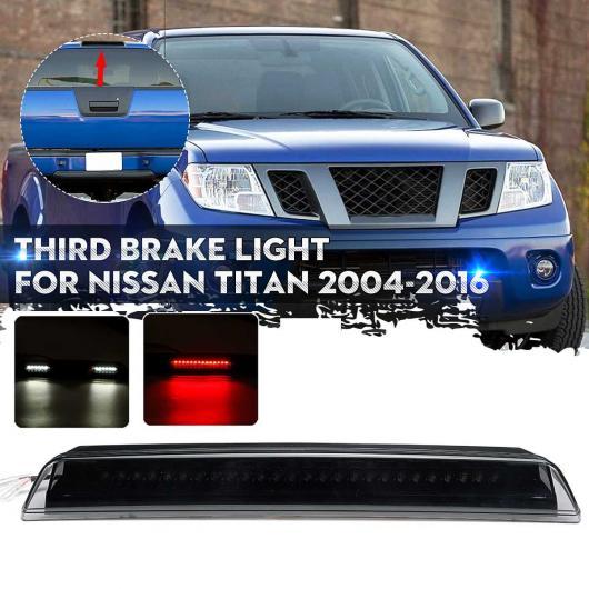 AL フロンティア LED サード 3RD ブレーキ ライト カーゴ ランプ バー 適用: 日産 タイタン 2004-2015 スモーク レンズ LED ライト AL-HH-1957