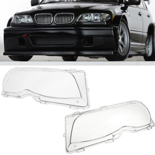 AL #63126924046 63126924045 ライト ヘッドライト レンズ シェル ヘッド ランプ カバー 適用: BMW E46 2001-2006 4DR 左 右 AL-HH-2092