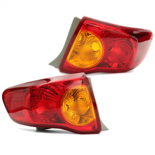 AL 8155002460 8156002460 テール ライト リア ブレーキ ランプ アウター インナー 左 右 適用: トヨタ カローラ 2008 2009 2010 1ピース 右・1ピース 左 AL-HH-2060