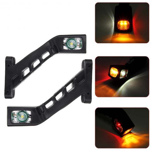 AL 12V 24V LED トラック サイド マーカー ライト インジケーター ランプ 3 サイド シグナル ライト 適用: トレーラー ローリー キャラバン RV 4ピース AL-HH-2101