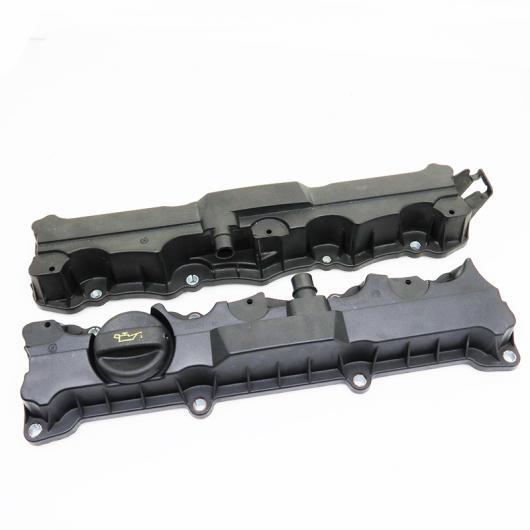 AL 2ピースセット OEM 0248L6/0248L7 16V 1.6 エンジン バルブ カバー アセンブリ ガスケット 適用: プジョー/PEUGEOT 206 307 308 408 1 セット バルブ カバー AL-HH-2298