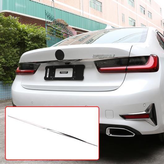 AL 適用: BMW 3シリーズ G20 G28 325 2019 2020 ステンレス クローム テール ドア 装飾 ストリップ トリム アクセサリー リア メンバー ストリップ AL-II-0201