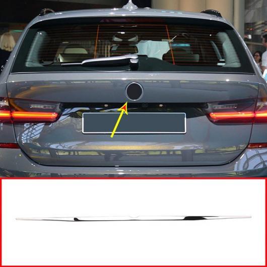 AL ABS クローム テール ドア 装飾 ストリップ トリム 適用: BMW 3シリーズ G20 G28 325 2019 2020 ステンレス アクセサリー リア メンバー ストリップ AL-II-0215