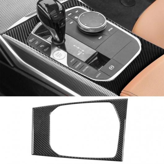 AL 1ピース カーボンファイバー ギア シフト パネル 装飾 適用: BMW 3シリーズ G20 325 330 335 2019 2020 左ハンドル AL-II-0202