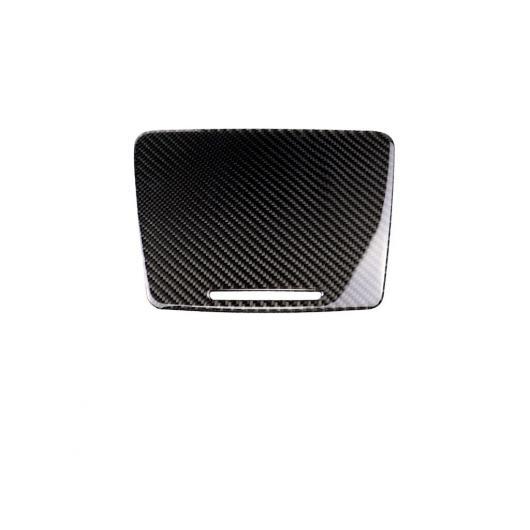 AL 2020 カーボンファイバー インテリア ウォーター カップ ステッカー パネル カバー 適用: メルセデスベンツ/MERCEDES BENZCクラス C180 C200 GLC カーボンファイバー ステッカー#GER タイプA AL-II-0297