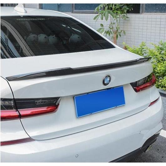 AL カーボンファイバー スポイラー 適用: BMW 3シリーズ G20 G28 318 320 325 328 330 335 2019 2020 2021 2022 ウイング リップ スポイラー CS モデル AL-II-0310
