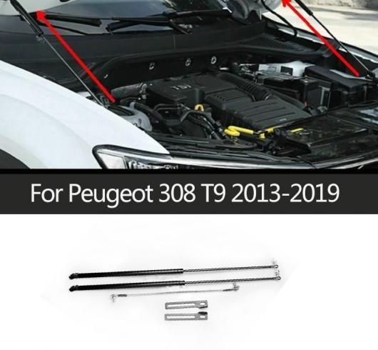 AL ボンネット フード サポート 油圧式 ロッド ストラット バー リフト スプリング ショック ブラケット 適用: プジョー/PEUGEOT 308 T9 2013-2019 AL-II-0774