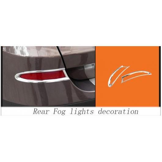 AL リア フォグ ランプ カバー グリル スラット フォグライト カバー 装飾 ストリップ 適用: BMW X3 F25 2011-2013 シルバー AL-II-0977