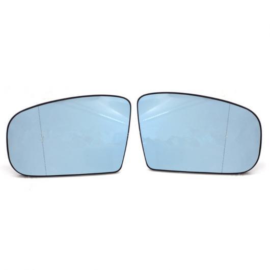 AL ブルー 左 右側 エクステリア ヒーテッド ドア ミラー ガラス ウイング 適用: メルセデス ベンツ Sクラス CLクラス W220 C215 CL500 S500 99-03 左 右 AL-II-1244